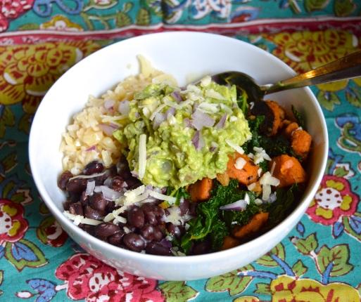 Kale & Sweet Tater Burrito Bowl 3