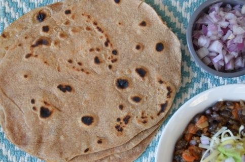 Whole Wheat Tortillas & Beans