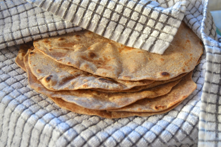 Easy Homemade Whole WheatTortillas