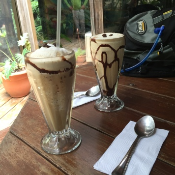 Iced Coffeess at Stella's.