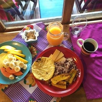 Fresh Breakfast at El Sol