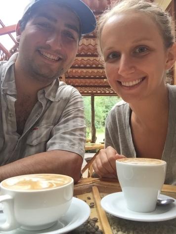 Coffee Center Selfie