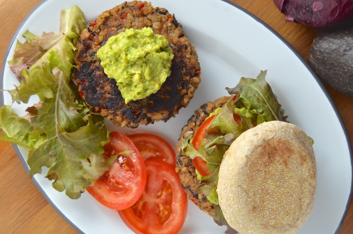 Mexican-Spiced Black Bean Burgers