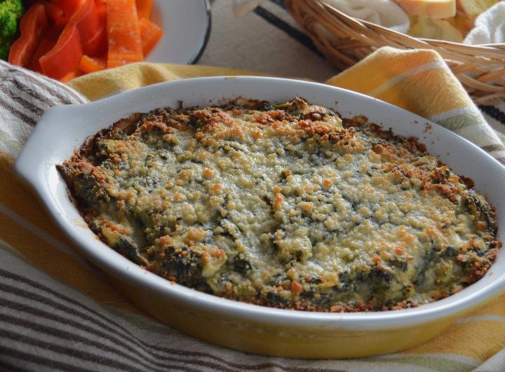 Hot & Creamy Spinach-Artichoke Dip