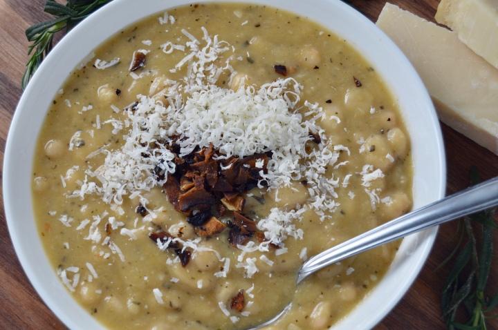 White Bean Stew withRosemary