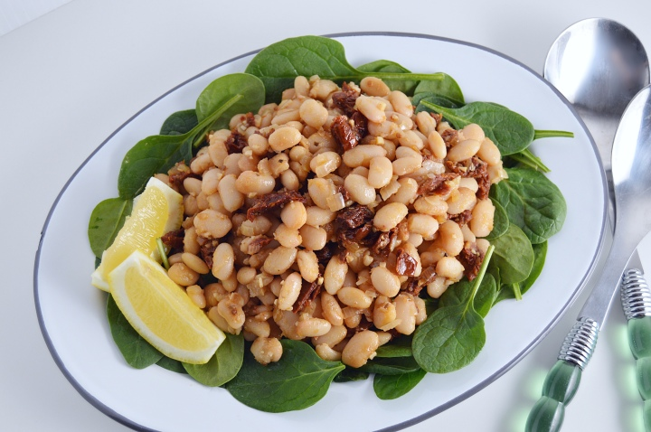 Sun Dried Tomato & White Bean Salad