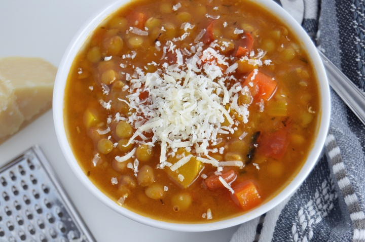 Italian Lentil & Vegetable Soup
