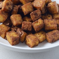 Lean Pantry: Crispy Chipotle Tofu
