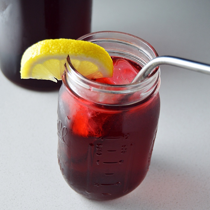 Cold Brew Hibiscus Iced Tea