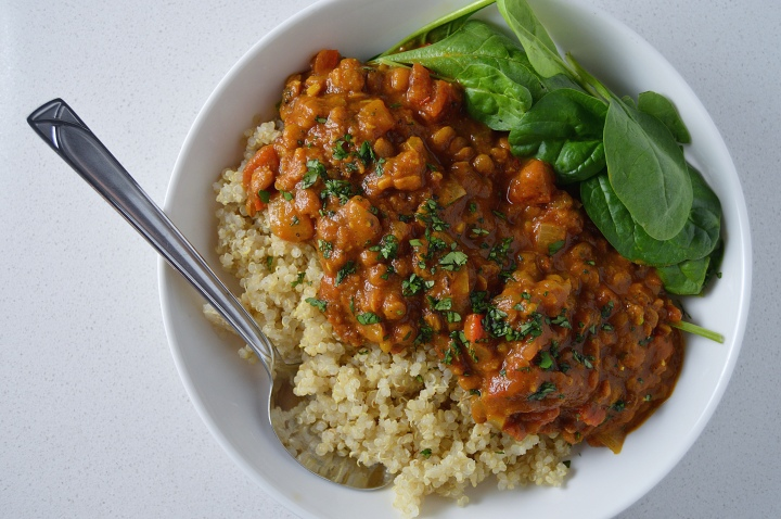 Indian Masala Lentil Stew
