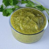 Roasted Tomatillo Sauce (salsa verde | green enchilada sauce)
