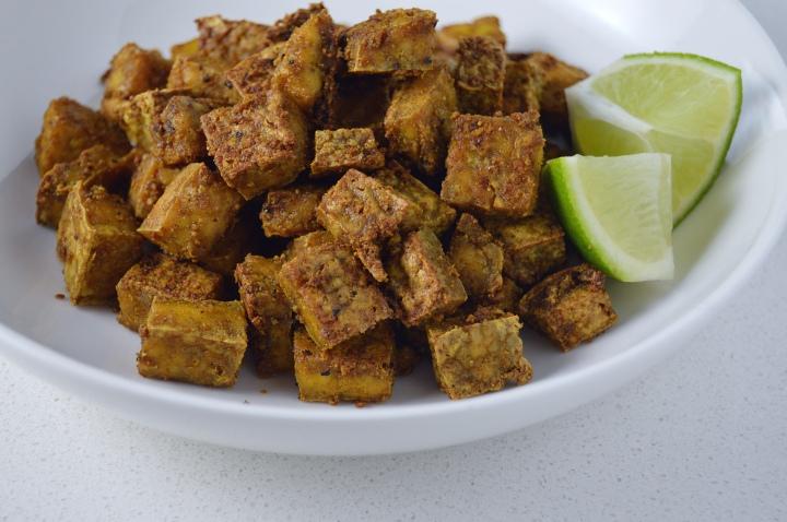 Crispy Curried Tofu