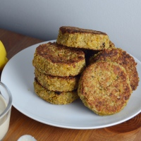 Lean Pantry: Chickpea Falafel Patties