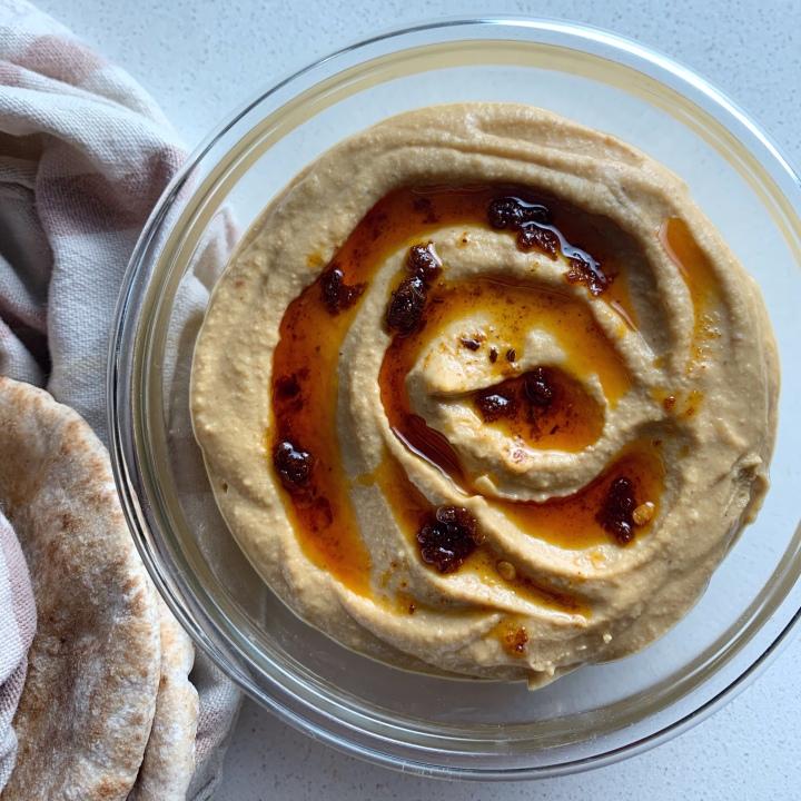 Harissa-Spiced Hummus