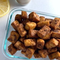 Lean Pantry: Cumin Roasted Tofu