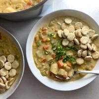 Creamy Sweet Corn Chowder (vegan)