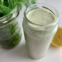 Ranch Dressing with Fresh Dill (vegan)