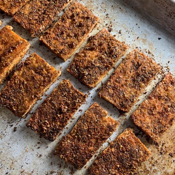 Mediterranean Tofu Cutlets